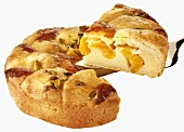 Apricot and pistachio croustade (France)