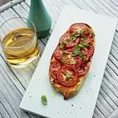 Bruschetta with aperitif