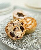 Christmas mince pies from England