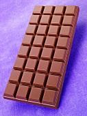 Eine Tafel Milchschokolade