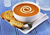 Rose hip soup with cream (Swedish speciality)