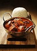 Chicken tikka masala (Chicken in masala sauce, India)