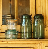 Empty preserving jars