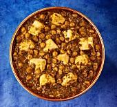 Palak Paneer (Spinat mit Käsewürfeln, Indien)