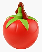 Ketchup bottle in the shape of a tomato