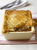 Minced meat pie