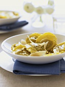 Cep tortellini with cheese
