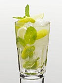Mojito (Cocktail made with rum, mint and lime)