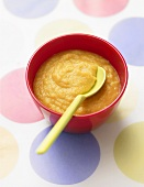 Lentil and carrot puree for children