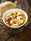 Rice with fruit and nuts