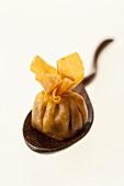 Wonton (Deep-fried, filled dumpling)