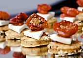 Tomato and feta appetisers