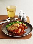 Hotpot (Meat and potato casserole, England)