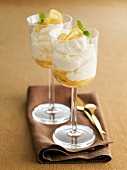Lemon Syllabub (Dessert from England)