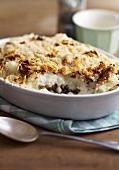 Cauliflower and lentil bake
