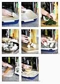 Preparate la torta pasqualina (Making torta pasqualina)