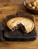Steak and ale pie (UK)