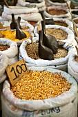 Cereal market in Natal, Brazil