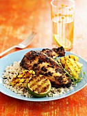 Jerk chicken (Jamaica)