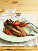 Kipper (Cold-smoked herring, UK)