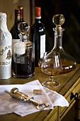 Port wine and brandy