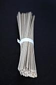 A bundle of soba noodles