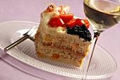 Smörgastarta (Savoury sandwich cake from Sweden)