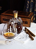 Cognac and cigars