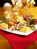 Sausage rolls (Christmas)
