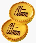 Lemon tartlets from France
