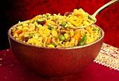 Biryani (Spicy rice dish from India)
