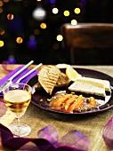Smoked salmon and fish terrine for Christmas dinner