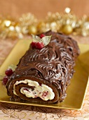 Yule Log (Christmas cake)