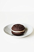 Chocolate Whoopie pie in a bowl