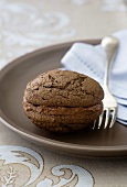 Chocolate Whoopie Pies with chocolate cream filling