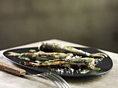Baltic Sea herring with herb butter and salt