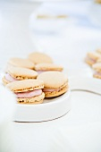 Macaroons with a raspberry filling