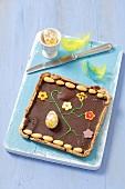 Chocolate Easter cake