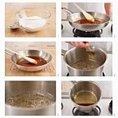 Making caramel