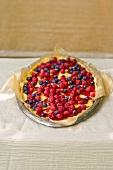 Mascarpone tart with fresh berries