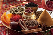 An arrangement of spices (Arabia)