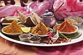 Various Thai spices