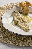 Su burrida (marinated fish fillets, Italy)
