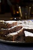 Torta di cioccolato (chocolate cake, Italy)
