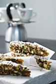 Panforte di Siena (spiced nut cake)