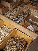 Dried fish in Sri Lanka