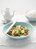 Ma Po Dou Fu (Chinese tofu dish)