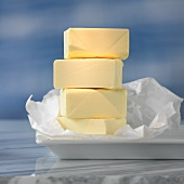 Sticks of butter, stacked