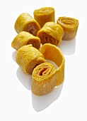 Dried and rolled mango