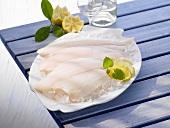 Gulf flounder on ice